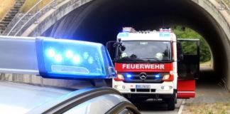 Polizei und Feuerwehr. Symbolfoto.
