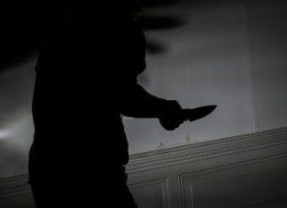 Überfall mit Messer. Symbolbild.