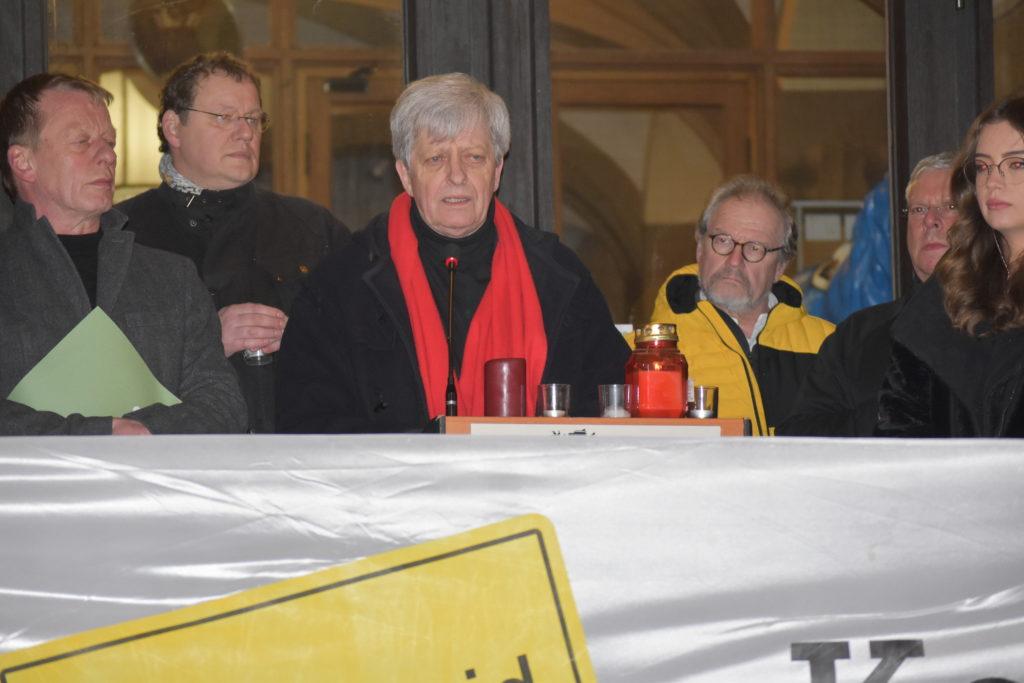 Fritz Beinersdorf, Fraktionsvorsitzender von Die Linke in Remscheid. Foto: Peter Klohs