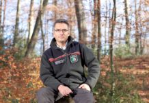 Markus Wolff, Geschäftsbereichsleiter Technische Betriebe Remscheid / Förster im Stadtwald Remscheid. Foto: obs/PEFC Deutschland e. V./NRWBank