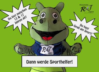 Werde Sporthelfer bei der Remscheider Sportjugend im Sportbund Remscheid. Artwork: Sportbund Remscheid e.V.