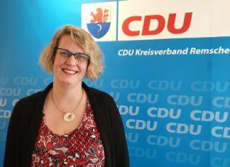 Alexa Bell von der CDU Remscheid. Foto: rs1.tv - www.rs1.tv