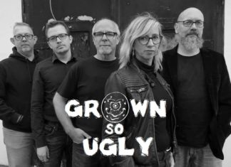 "Die Bergische Band ""Grown so Ugly"" mit Frontfrau Pepsi. Foto: www.grownsougly.de"