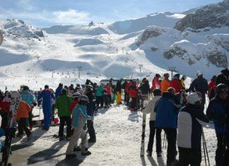 Skifahren in Ischgl. Foto: Hans Braxmeier