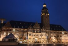 Das Remscheider Rathaus. Foto: Sascha von Gerishem
