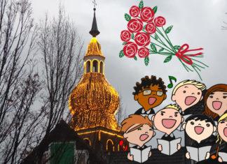 Jugendchorprojekt in der Lenneper Stadtkirche zu Muttertag am 10. Mai 2020. Artwork: Sascha von Gerishem