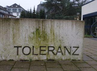 Toleranz. Foto: Sascha von Gerishem