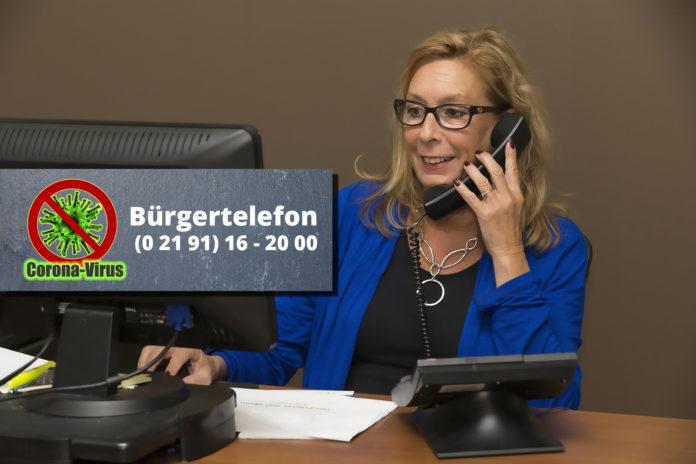 Das Bürgertelefon der Stadt Remscheid ist unter 02191 16-2000 erreichbar.