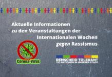 Die Internationalen Wochen gegen Rassismus mit geringerem Angebot.