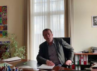 Corona-Virus: Oberbürgermeister Burkhard Mast-Weisz zur aktuellen Lage in Remscheid. Bildrechte: Stadt Remscheid