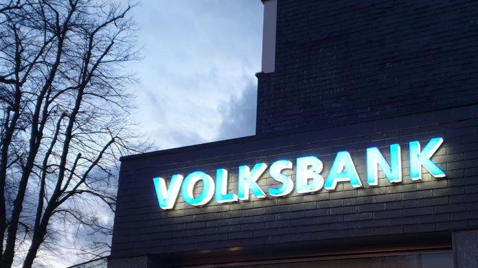 Volksbank im Bergischen Land. Foto: Sascha von Gerishem