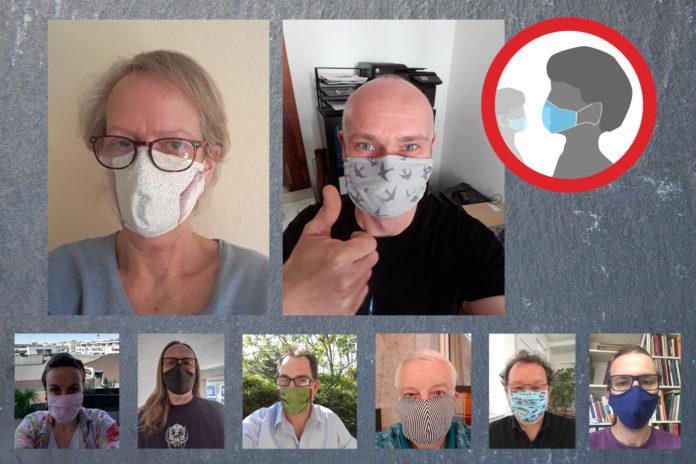 GRÜNE Remscheid unterstützen die landesweite Einführung der Maskenpflicht. Fotos: www.gruene-remscheid.de