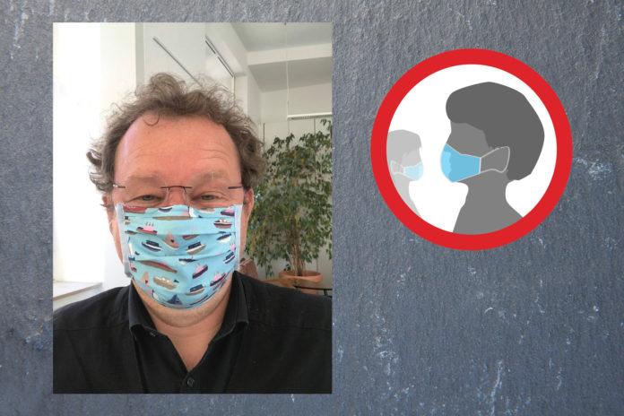 Corona-Krisenstabsleiter Thomas Neuhaus begrüßt die Maskenpflicht. Foto: Grüne Remscheid