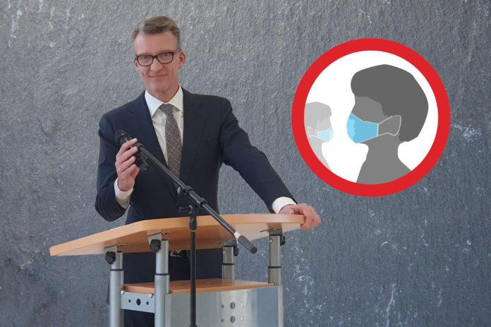 Der SPD Landtagsabgeordnete Sven Wolf kommentiert den Maskenpflicht-Vorstoß vom Abgeordneten Nettekoven.