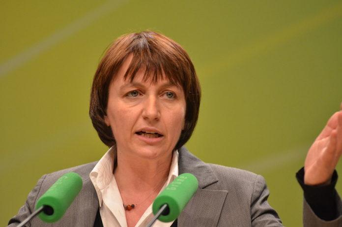 Monika Düker, Vorsitzende der Landtagsfraktion von Bündnis 90/Die Grünen Nordrhein-Westfalen / CC BY-SA (https://creativecommons.org/licenses/by-sa/2.0)