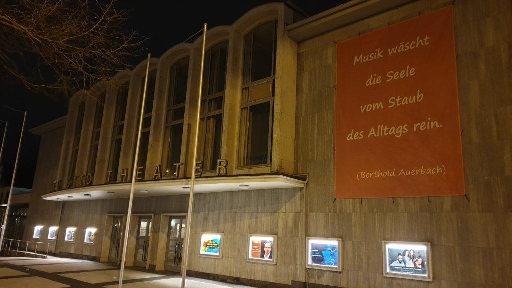 Das Teo Otto Theater in Remscheid. Foto: Sascha von Gerishem