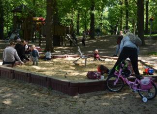 Das Leben kehrt auf die Spielplätze in Remscheid zurück. Foto: Peter Klohs