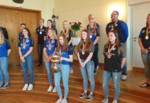 Die Bundesligistinnen der IGR sind die Deutschen Meisterinnen im Rollhockey. Foto: rs1.tv