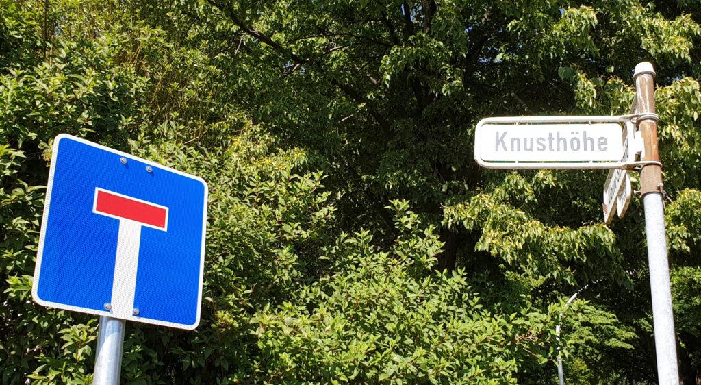 Knusthöhe: Wohnbebauung auf der grünen Wiese statt bereits versiegelte Flächen neu zu nutzen sehen die Grünen Remscheid als Sackgasse. Foto: Sascha von Gerishem