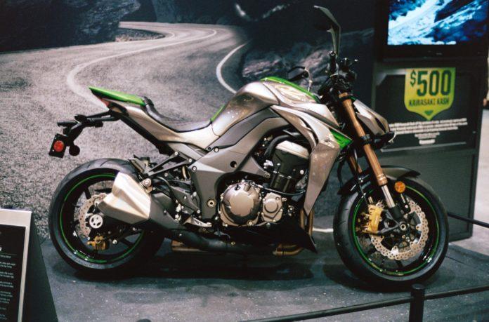 Kawasaki Z1000, 2014er-Modell. Symbolfoto: Dennis Bratland