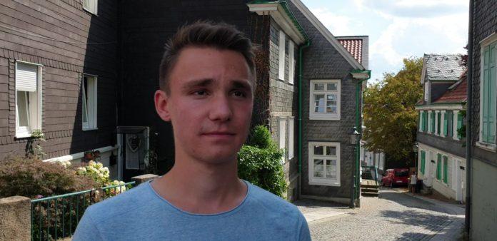 Daniel Pilz in Lennep. Foto: Sascha von Gerishem