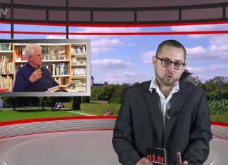 """Happ Birthday Marcus Schmidt, hier in der Ausgabe KW35 von """"Die Woche"""" - Lokalnachrichten aus Remscheid. Screenshot: rs1.tv"""