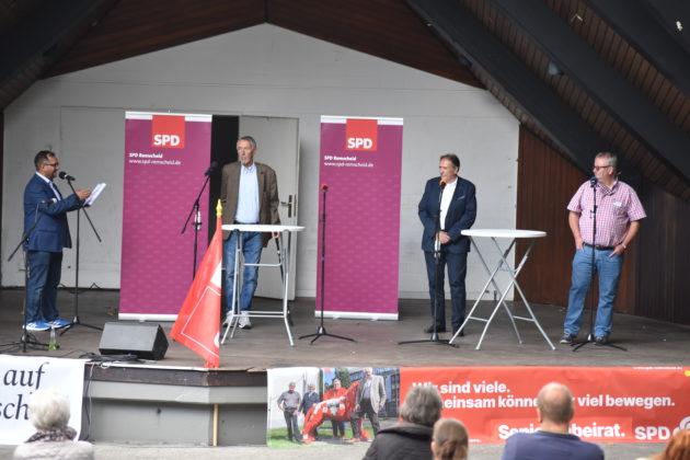 Die Kandidaten der SPD-Remscheid für die Bezirksbürgermeister. Foto: Peter Klohs