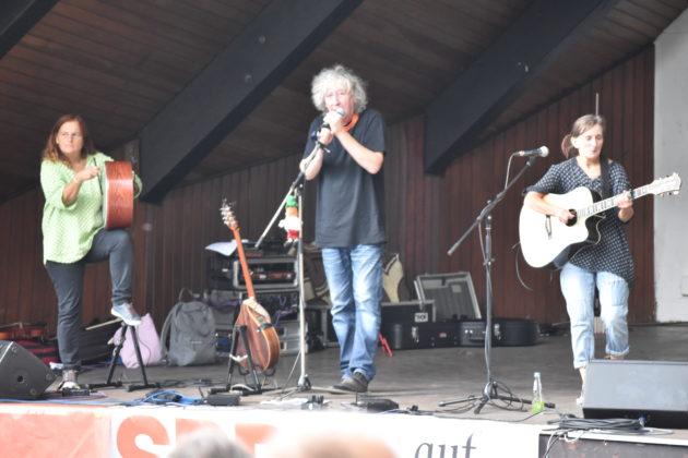 Irish Folk mit Fragile Matt. Foto: Peter Klohs