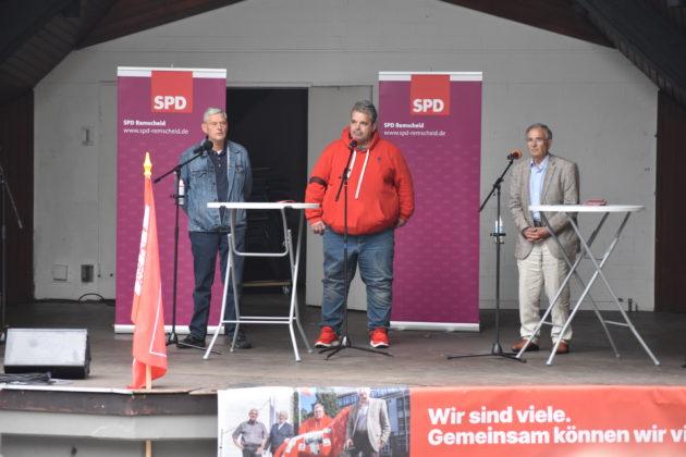 Die SPD-Kandidaten für den Remscheider Seniorenbeirat. Foto: Peter Klohs