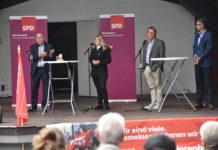 Große Gesprächsrunde der SPD Remscheid. Foto: Peter Klohs