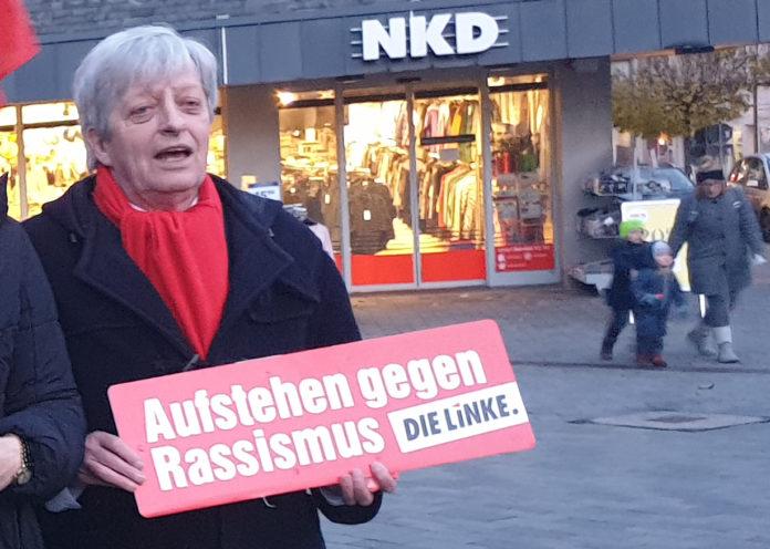 Der personifizierte Inbegriff für Haltung und eine klare Kante: Antifaschist Fritz Beinersdorf. Foto: Antifaschist Sascha von Gerishem