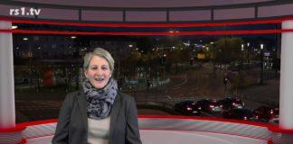 """Nicole Dahmen führt durch """"Die Woche"""", Lokalnachrichten aus Remscheid. Eine Kooperation von rs1.tv und Lüttringhauser. Screenshot: rs1.tv"""
