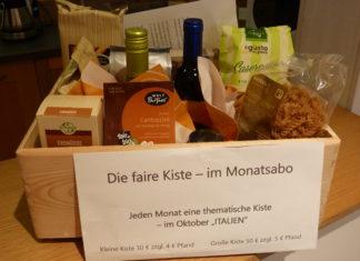 Der Flair-Weltladen in Lüttringhausen bietet ab jetzt eine Faire Kiste im Monatsabo an. Foto: Flair-Weltladen