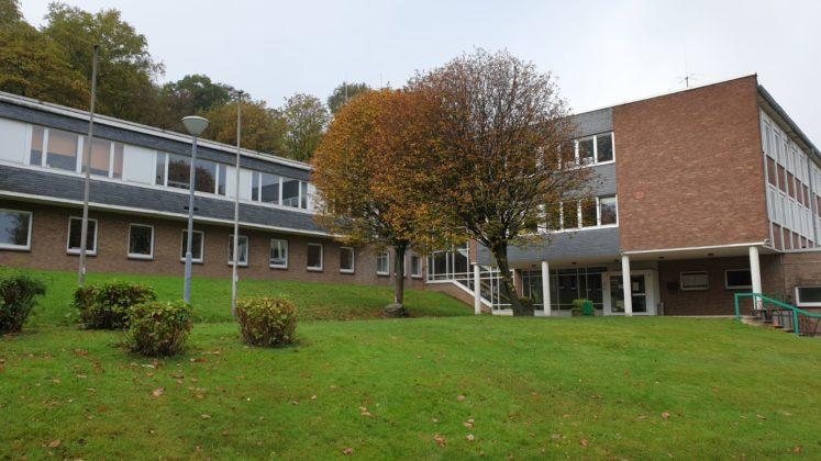 Das Gesundheitsamt im Gesundheitshaus an der Hastener Straße in Remscheid. Foto: Sinja Wappler / rs1.tv