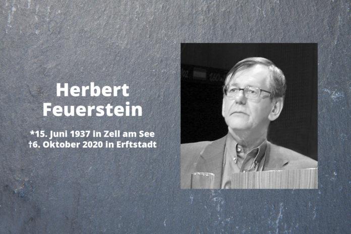 RIP Herbert Feuerstein. Foto: Elke Wetzig