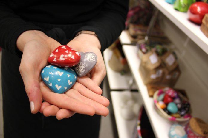 Herzen aus dem Fairen Handel, Herzen für den Fairen Handel.