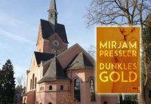 """Literarischer Spaziergang in Lüttringhausen: Treffpunkt ist die evangelische Kirche Tannenhof an der Remscheider Straße 76, Thema wird """"Dunkles Gold"""" von Mirjam Pressler. Foto: Sascha von Gerishem"""