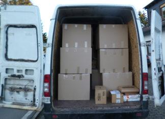 Die Polizei hat am Mittwoch diesen Paket-Zustellwagen aus dem Verkehr gezogen. Foto: Polizei MK