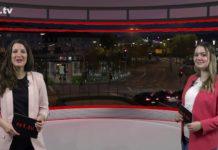 """Sarah Stahlschmidt führt durch """"Die Woche"""", die Lokalnachrichten aus Remscheid präsentiert Sabrina Ottersbach. Eine Kooperation von rs1.tv und Lüttringhauser. Screenshot: rs1.tv"""