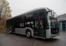 Vollelektrischer Linienbus von Mercedes-Benz: Der eCitaro. Foto: Stadtwerke Remscheid