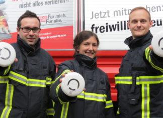 """""""Freitag der 13. könnte ihr Glückstag sein"""", lautet das Motto des bundesweiten Rauchwarnmeldertages. Foto: Feuerwehrverband NRW"""