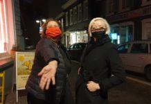 Steph Hoffmann begüßte die Chansoneuse Annette Konrad im Podcast Kultur untereinander. Foto: Sascha von Gerishem