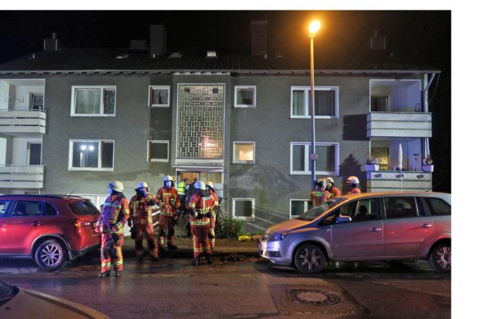 In der Kuhler Straße in Velbert hat es gebrannt. Foto: Polizei Mettmann