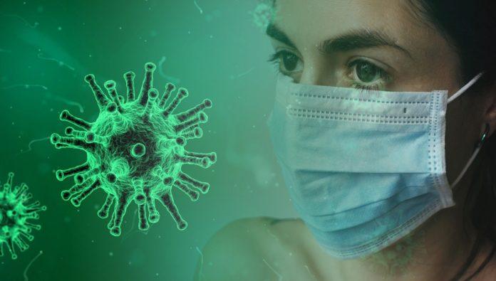 Corona-Virus, COVID19. Symbolbild.