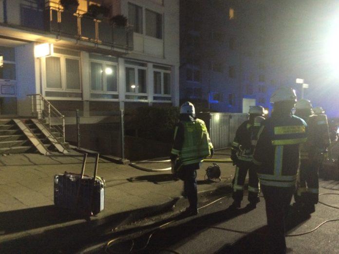 Einsatz der Feuerwehr Hattingen. Foto: Jens Herkströter