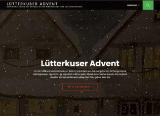 Den Internet-Adventskalender gibt es unter www.luetterkuser-advent.de