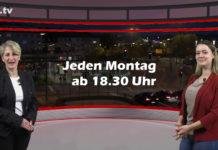"""Nicole Dahmen führt durch """"Die Woche"""", die Lokalnachrichten aus Remscheid präsentiert Sabrina Ottersbach. Eine Kooperation von rs1.tv und Lüttringhauser. Screenshot: rs1.tv"""
