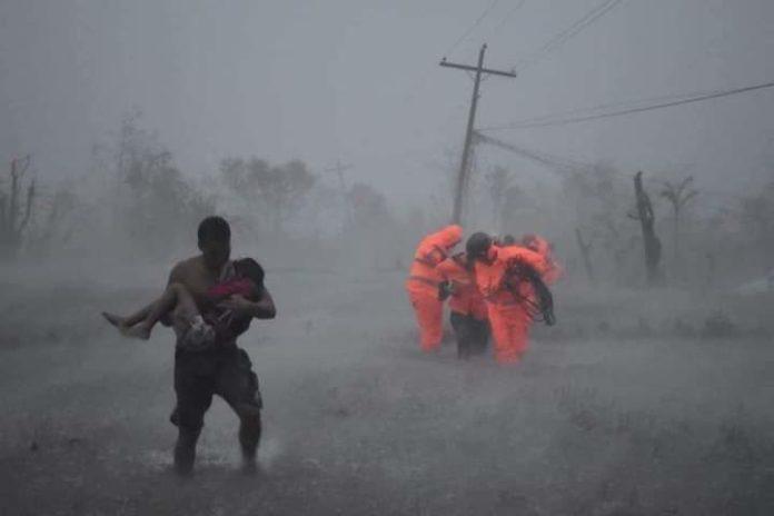 Taifun Vamco rast mit 250 km/h über die Philippinen: Bereits 50 Menschen verloren ihr Leben. Foto: Caritas Philippinen/obs/Caritas international