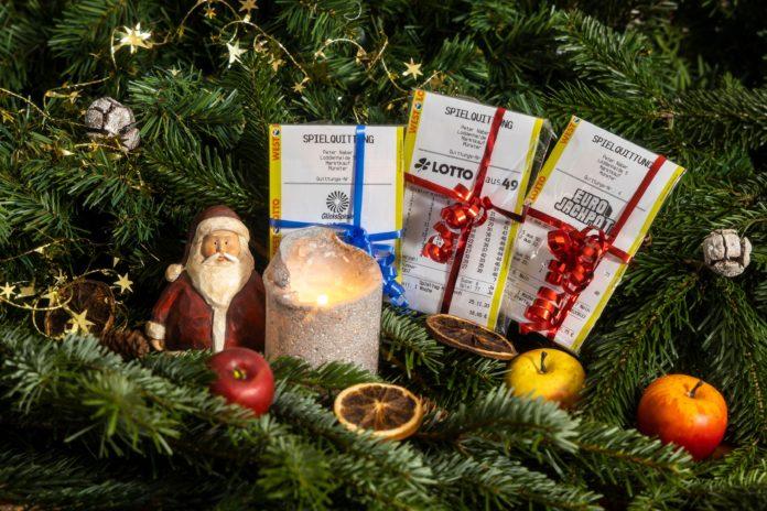 Was für eine Bilanz über Weihnachten: Gleich vier Millionäre und elf weitere Großgewinner ist das NRW-Ergebnis zu den Ziehungen über die Festtage. Foto: obs/WestLotto/(c) MünsterView / Heiner Witte