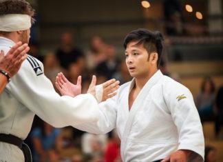 Fabian Karau und Rodel Arnolds vom RTV-Judoteam. Foto: Jürgen Steinfeld